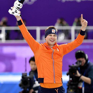Sven Kramer ijs