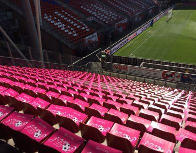 Zorg van de Zaak Netwerk vak in FC Utrecht stadion