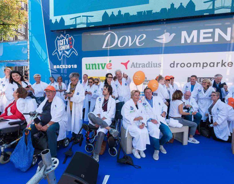 Amsterdam City Swim deelnemers
